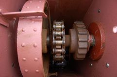 Elemento mecânico Foto de Stock Royalty Free
