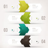 Elemento moderno del infographics stock de ilustración