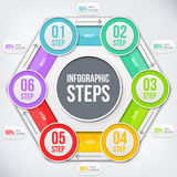 Elemento moderno do infographics Fotos de Stock