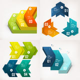 Elemento moderno do infographics Imagens de Stock