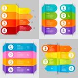 Elemento moderno do infographics Foto de Stock Royalty Free
