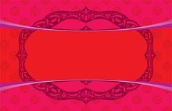 Elemento oriental del diseño del fondo stock de ilustración