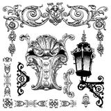 Elemento ornamentale di progettazione di Leopoli storico Fotografia Stock Libera da Diritti