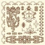 Elemento ornamentale di progettazione di Leopoli storico Fotografie Stock