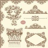 Elemento ornamentale di progettazione di Leopoli storico Fotografia Stock