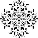 Elemento para el diseño, flor, vector ilustración del vector