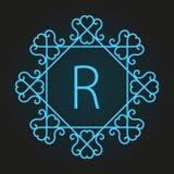 Elemento para o projeto do logotipo Fotografia de Stock Royalty Free
