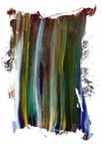 Elemento pintado del marco de la lona Imagenes de archivo