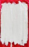Elemento pintado del marco de la lona Fotos de archivo