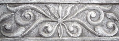 Elemento que moldea decorativo de la pared - estilo antiguo Imagenes de archivo
