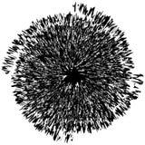 Elemento radial geométrico Geométrico concéntrico, radial abstracto Fotos de archivo libres de regalías