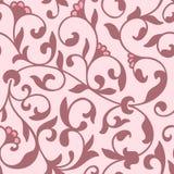 Elemento sem emenda do teste padrão da flor do vetor Textura elegante para fundos Ornamento floral antiquado luxuoso clássico ilustração royalty free
