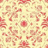 Elemento sem emenda floral do teste padrão do vintage do vetor. Imagem de Stock