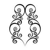 Elemento simmetrico astratto di Deco Immagini Stock