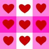 Elemento stabilito di progettazione di vettore del cuore di amore Immagine Stock Libera da Diritti