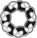 Elemento tradicional céltico del vector Imágenes de archivo libres de regalías