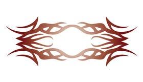 Elemento tribal del tatuaje para el diseño Imagen de archivo libre de regalías