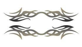 Elemento tribale del tatuaggio per il disegno Fotografie Stock Libere da Diritti
