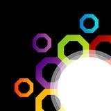 Elemento variopinto di progettazione Fotografie Stock