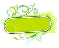 Elemento verde do projeto Imagem de Stock Royalty Free