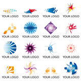 Elementos 02 do logotipo Imagem de Stock Royalty Free