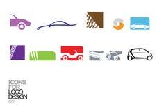 Elementos 02 do vetor do projeto do logotipo fotografia de stock