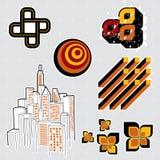 Elementos #1 del diseño Imágenes de archivo libres de regalías