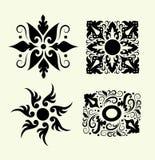 Elementos 1 (ornamento floral) Fotografía de archivo