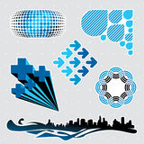Elementos #3 del diseño Libre Illustration