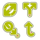 Elementos 31c del diseño Imagenes de archivo