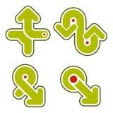 Elementos 31d del diseño Imágenes de archivo libres de regalías