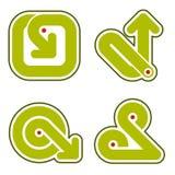 Elementos 31f del diseño Imagen de archivo libre de regalías