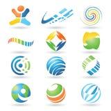 Elementos 4 del diseño del vector libre illustration