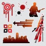 Elementos #5 del diseño Imagenes de archivo