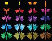 Elementos 5 do Web Fotografia de Stock