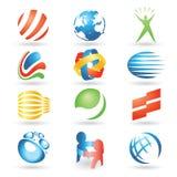Elementos 7 del diseño del vector libre illustration