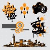 Elementos #8 del diseño Fotografía de archivo
