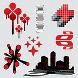 Elementos #8 del diseño Imagen de archivo