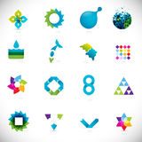 Elementos abstractos del diseño Imagen de archivo