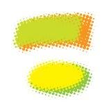 Elementos abstractos del diseño Foto de archivo libre de regalías
