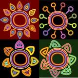 Elementos abstratos Fotografia de Stock Royalty Free
