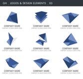 Elementos abstratos do projeto   Imagens de Stock