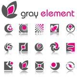 Elementos abstratos do projeto. Jogo 4. Fotos de Stock Royalty Free