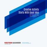 Elementos abstratos do projeto do vetor para a disposição gráfica Fotografia de Stock