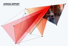 Elementos abstratos do projeto do vetor para o molde gráfico Imagem de Stock Royalty Free