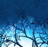 Elementos abstratos florais ilustração stock