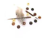 Elementos africanos da decoração do tema Fotografia de Stock Royalty Free