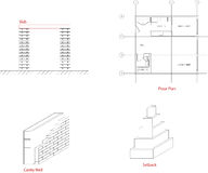 Elementos arquitectónicos Imagens de Stock Royalty Free
