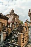 Elementos arquitectónicos de Wat budista, Tailandia septentrional Foto de archivo libre de regalías