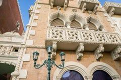 Elementos arquitectónicos italianos Foto de archivo libre de regalías
